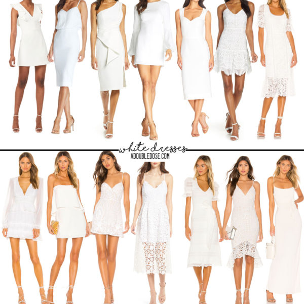 White Dresses For Any Occassion