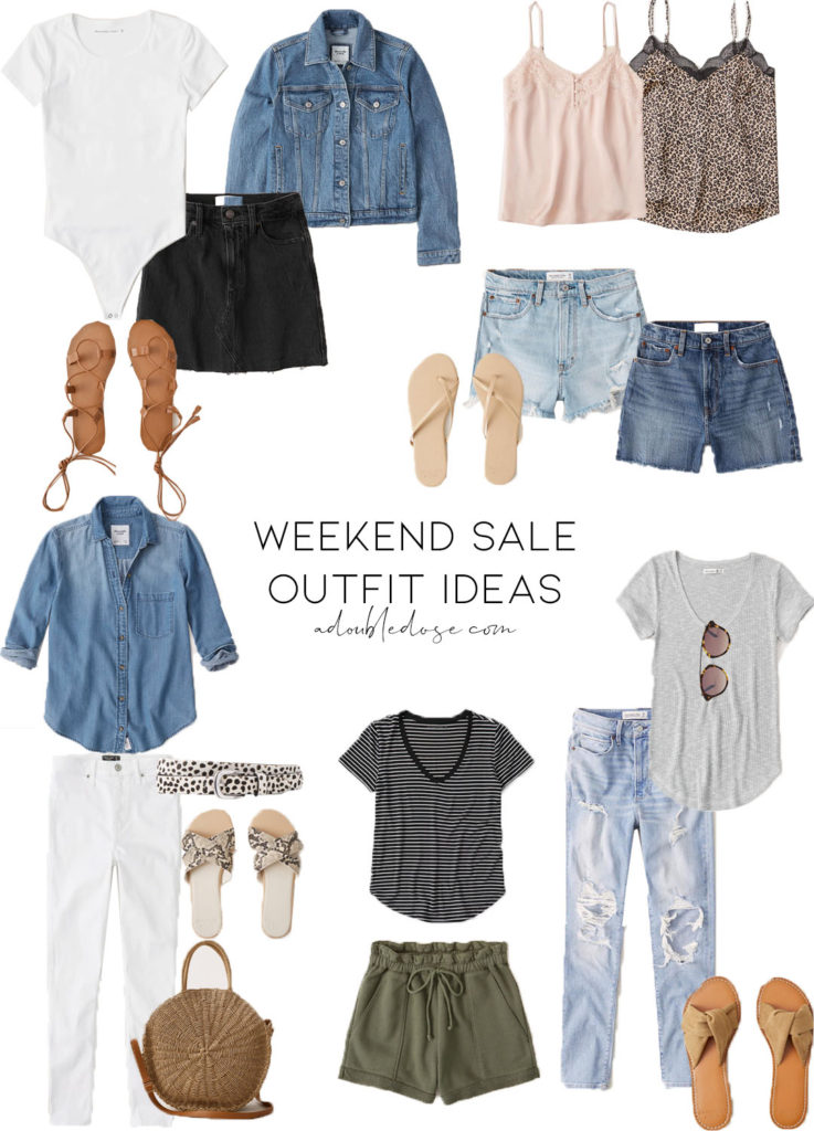 lifestyle and fashion blogger alexis belbel sharing weekend sale finds from abercrombie and nordstrom march 2020 | adoubledose.com