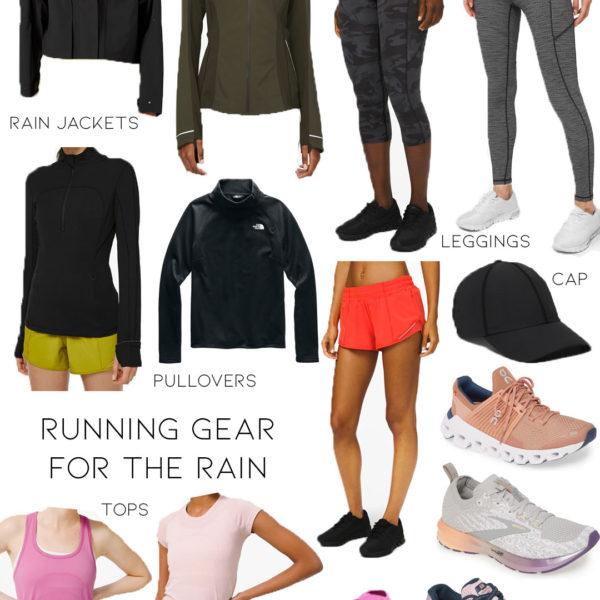 Wellness Wednesday .24: Running Gear For The Rain