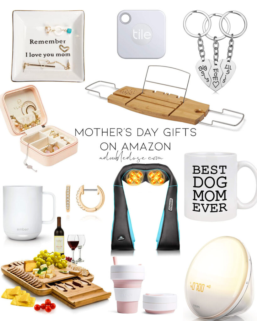 lifestyle and fashion bloggers alexis and samantha belbel share their top and best picks for mother's day gift ideas that are affordable, on amazon, and for any mom from jewelry to luggage to robes and more.
