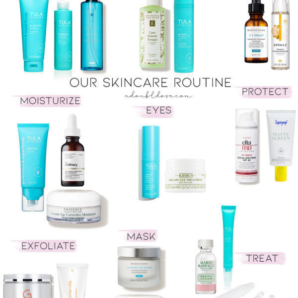 Our Daily Skincare Routine At Home