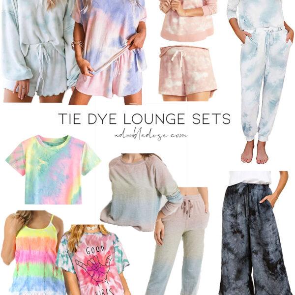 Tie Dye Lounge Sets