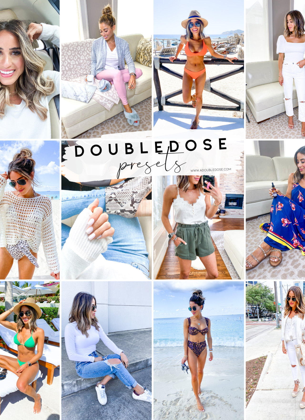 lifestyle and fashion bloggers alexis and samantha belbel sharing their mobile lightroom presets and how they edit all of their instagram photos in one click to make them light and airy | adoubledose.com