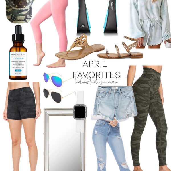 April Clothing And Shoes Favorites