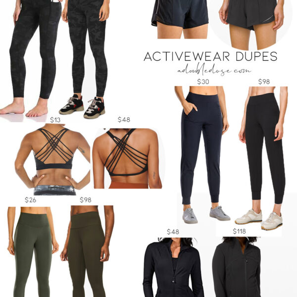 Activewear Lululemon Dupes