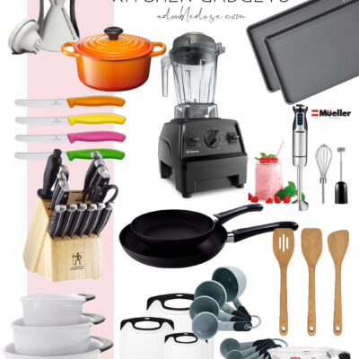 lifestyle and fashion blogger alexis belbel sharing a vegan chocolate cake with vegan chocolate cream frosting and favorite kitchen tools and gadgets on amazon   adoubledose.com