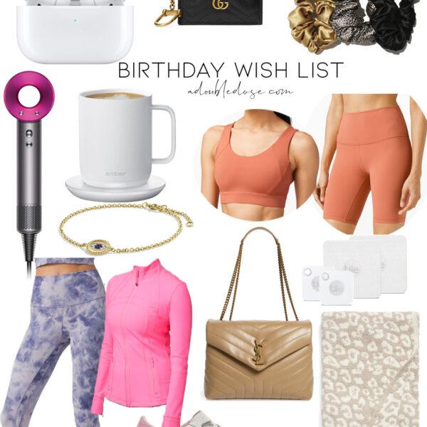 Birthday Wish List 2020