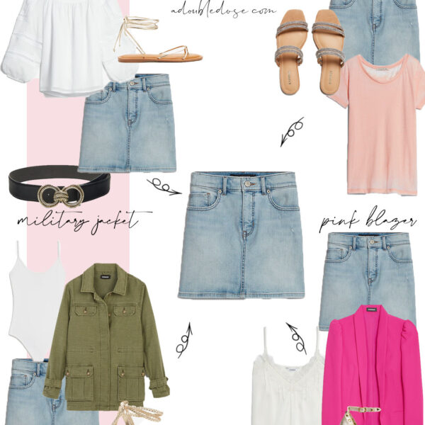 How To Style A Denim Skirt + Summer Sale Finds From Express