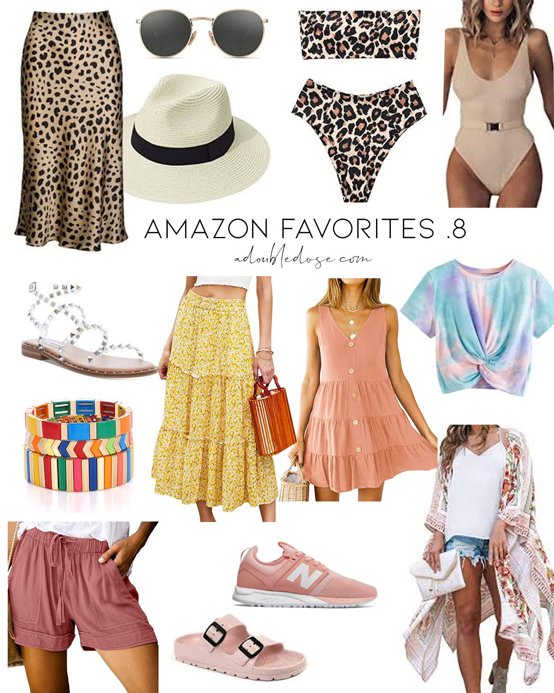 amazon favorites .8: lifestyle and fashion blogger alexis and samantha belbel share their amazon fashion favorites for summer 2020 | adoubledose.com