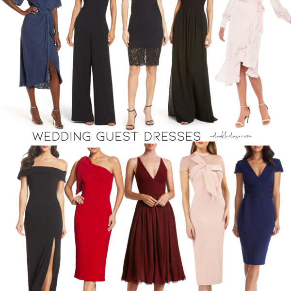 Fall Wedding Guest Dresses 2020