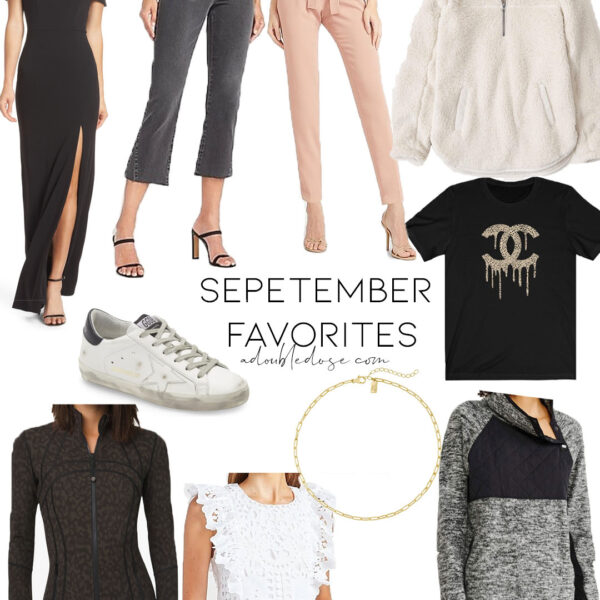 September Clothing And Shoes Favorites