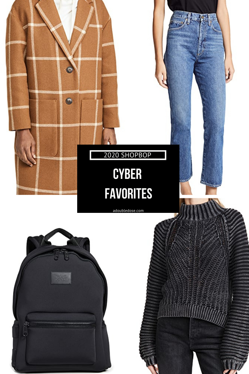 our shopbop cyber weekend sale favorites 2020 | adoubledose.com
