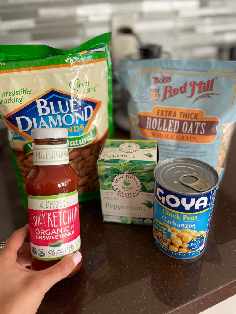 lifestyle and fashion blogger samantha belbel shares how she uses Walmart Grocery Pickup and Delivery to get groceries for the week and how much she saves vs Kroger | adoubledose.com