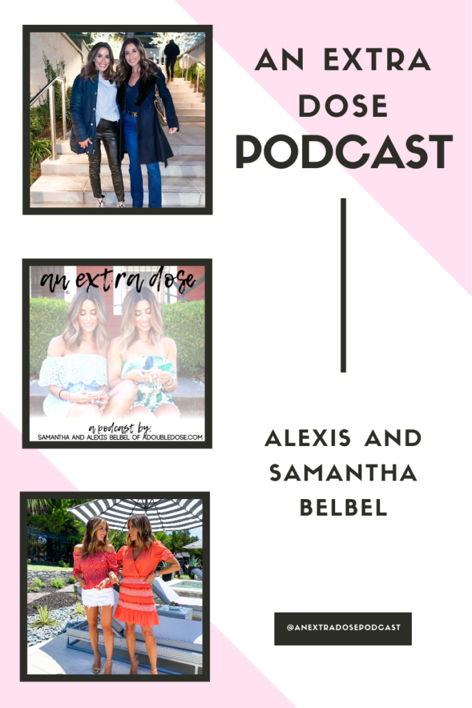 lifestyle and fashion bloggers alexis and samantha belbel share their online shopping tips: safe shopping, money saving tips, and more. They are also sharing how to dress for your body type, and how to approach guys you are into on their podcast, An Extra Dose. Their favorites include their most worn petite jeans.