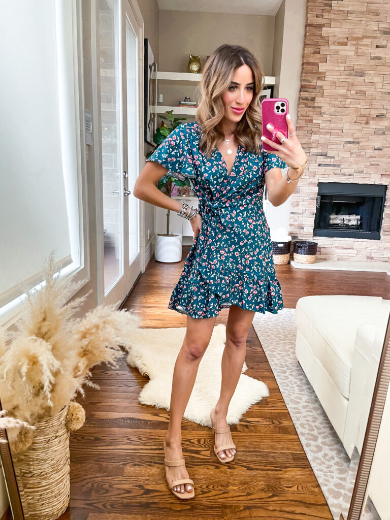 lifestyle and fashion blogger alexis belbel sharing some amazon dresses for spring and summer that are affordable and perfect for traveling or date night | adoubledose.com