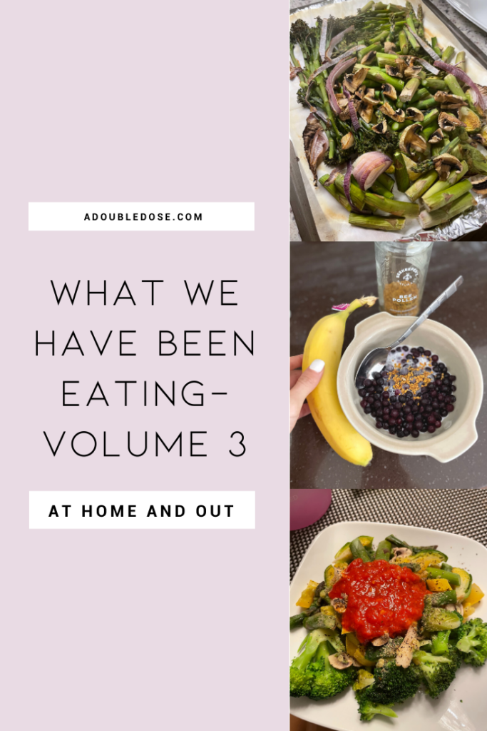 lifestyle and fashion bloggers alexis and samantha belbel sharing what they eat for plant based meals for breakfast, lunch, dinner, and snacks | adoubledose.com