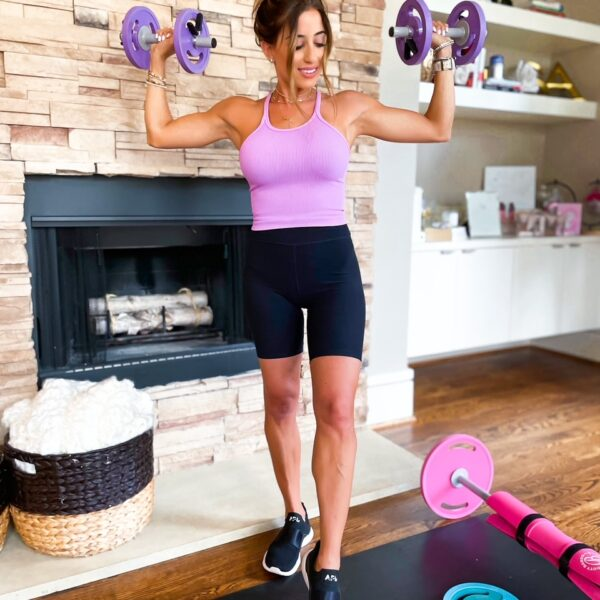 Full Body At Home Workout With Weights + Resistance Bands